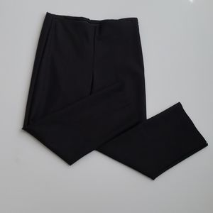 New Ecru Black Ankle Pants Size 2